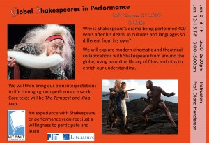 Global Shakespeares poster