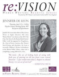 reVision flyer, Jennifer De Leon